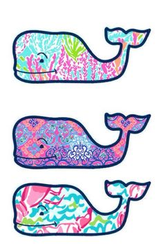 Today I'm doing a tutorial on how to easily make your own monogram stickers and adorable Lilly Pulitzer whale stickers. Preppy Stickers, Monogram Stickers, Cute Stickers, Laptop Stickers, Tumbler Stickers, Vinyard Vines, Vineyard Vines Whale, Vineyard Vines Stickers, Preppy Southern