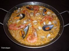 Paella de marisco para #Mycook http://www.mycook.es/receta/paella-de-marisco-2/