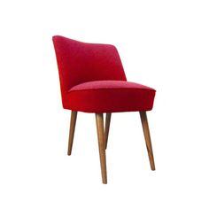 Ruby Velvet Dining Chair