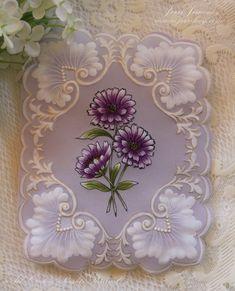 Parchment paper card.