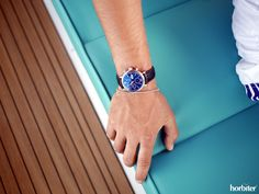 "Sailing on-board the Apreamare GOZZO with the IWC Portofino Chronograph Edition Years"" Iwc Watches, Dream Watches, Watch Brands, Chronograph, Sailing, Board, Candle, Sign"