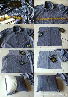Cojines de camisas