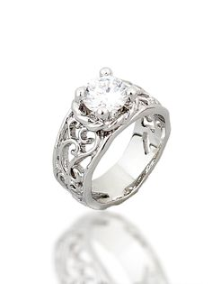 Silver Ring by SIGN. Available with different stone colors. Product Number: 209 #ring #rings #silver  #jewelry