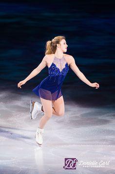 Ashley Wagner -Blue Figure Skating / Ice Skating dress inspiration for Sk8 Gr8 Designs.