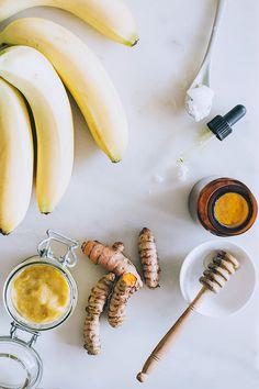Inside   Out: 3 Banana Beauty Recipes   Sleep Well Banana Tea   http://helloglow.co/banana-tea-beauty-recipes/