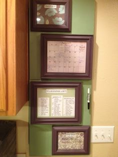 turn the fuse box cover into a chalkboard! i saw this today in an Covering Fuse Box Ideas find this pin and more on home fuse box cover covering fuse box ideas