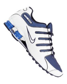 NIKE Shox NZ Combines an inferior technology with an adidas trademark  smear. SUPER! Nike 7f646ff95d