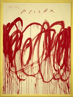 Cy Twombly - Abstract Expressionism Cy Twombly Paintings, Cy Twombly Art, Fox Art, L Abstraction, Abstract Expressionism, Character Illustration, Illustration Art, Robert Rauschenberg, Watercolor Fashion