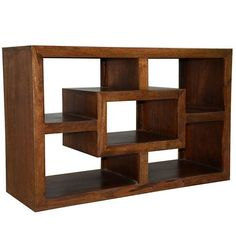 Y-Decor Hand-stained Solid Mango Wide-display TV Cabinet