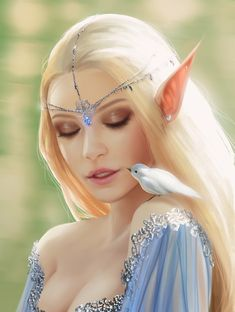 ArtStation - Elf Princess, Helena Cnockaert