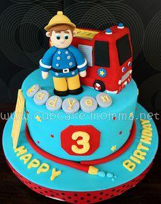 Fireman Sam by Cupcake Momma