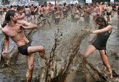 Mud & more = Woodstock Music Festival Aug 1969
