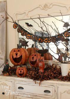 The Fancy Shack: Halloween Vignettes