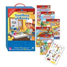 Toolbox of Books (Disney Handy Manny)  -Click image twice for more info - see a larger selection of disney toys at http://zkidstoys.com/product-category/disney/-  kids, baby toys , infant toys , nursery toys, kids git ideas, toddler gift ideas, baby gift ideas,children toys,kids toys, holiday 2014, christmas 2014,toys,educational toys, activity toys.