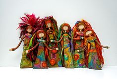 Six New Muses! by aMused Creations, via Flickr. Love these!!!