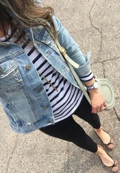 30 Best Summer Outfits Stylish and Comfy Casual Summer Fashion Style. Very Light and Fresh Look. The Best of casual outfits in Fashion Blogger Style, Look Fashion, Denim Fashion, Trendy Fashion, Fashion Outfits, Fashion Spring, Trendy Style, Jackets Fashion, Fashion Black