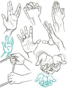 180 Idées De Exemples Dessins De Mains Gestuel Doigts Et Paumes Dessin Dessin Main Comment Dessiner Une Main