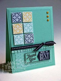 Stampin' Up!  Hello, Lovely Card - F4A187