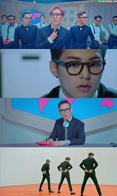 [Vyrl] EXO_EN : ' tops various charts in Korea immediately upon its Suho Exo, Exo K, Park Chanyeol, Exo Chen, K Pop, Rose Music, Wu Yi Fan, Rap Lines, Amor
