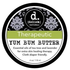 Yum Bum Butter is a cloth diaper safe salve formulated with nourishing ingredients which help soothe Essential Oils For Add, Therapeutic Grade Essential Oils, Natural Essential Oils, Essential Oil Blends, Natural Oils, Body Butter, Shea Butter, Cocoa Butter, Benefit