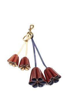 Leather Flower Bag Charm by Marc Jacobs - Moda Operandi