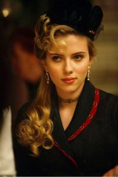 The Prestige - Scarlett.: cute for longer hair with a vintage twist