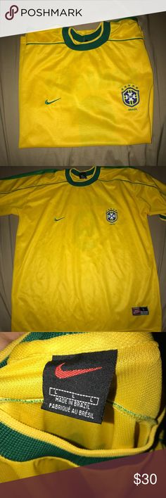 Brazil jersey Normal use Nike Shirts Tees - Short Sleeve