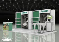 Nimlok designs and builds custom exhibits and trade show displays for face-to-face marketing. We showcased the Neogen brand with a 10x20 custom solution.
