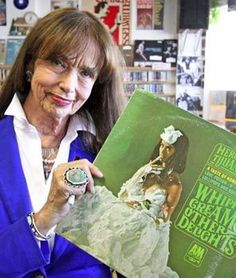 """The Whipped Cream Lady who is the model on the memorable LP cover of the 1965 Herb Alpert & the Tijuana Brass' """"Whipped Cream & Other Delights"""" is 76 now and living in Longview. Dolores Erickson wants to tell all you teen dreamers, """"Enjoy the memories."""""""