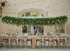 A Soft and Elegant Provence Wedding in Lourmarin, Provence-Alpes-Côte d'Azur: Romantic Details Tailored for an Epicurean Experience - an Aisle Planner Real Wedding. Wedding Set Up, Green Wedding, Wedding Ideas, Wedding Reception, Wedding Venues, Reception Decorations, Table Decorations, Madame C, Wedding Table Seating