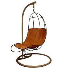 Rupert Oliver. Can't get enough of hanging furrniture