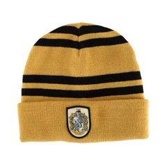 Amazon.com: Hufflepuff House Beanie: Clothing ❤ liked on Polyvore featuring accessories, hats, beanie caps, beanie hat and beanie cap hat