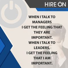 When I talk to managers.   #job #jobs #opportunity #work #hiring #jobsearch #business #sales #staffing #hr #manpower #agency