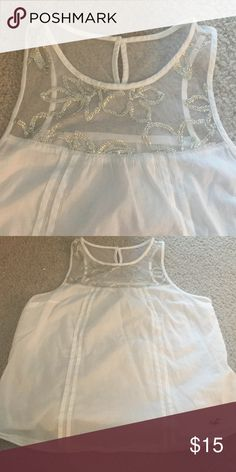 Super cute Hollister top Perfect condition Hollister Tops Blouses