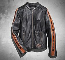 If you're going Moto, go all the way.  Harley Davidson Comfort Cruiser Leather Jacket
