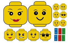 Kit imprimible para Fiesta de cumpleaños Lego                              …