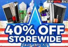 CSVape: 40% Off Sitewide