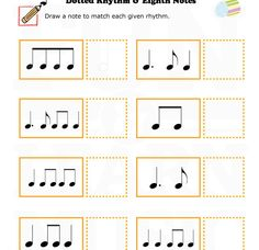 Music-Worksheets-Easter-Note-Value-Eighth-Notes-002