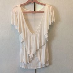 Top Charlotte Russe. Semi tight and fits chest AMAZING. Charlotte Russe Tops