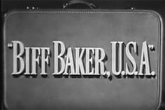Alan Hale Jr: Played A Spy In 'Biff Baker U.S.A.'  Hale's first major television role came in this CBS espionage series of the 1952-53 season. The Cold War drama centered on a couple of married secret agents posing as importers behind the Iron Curtain. In one episode, art thieves are attempting to smuggle the Mona Lisa into Eastern Europe by painting over it. Charles Bronson played a Czech spy on 2 episodes of the lone season.