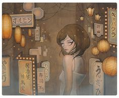 Saying Goodbye-Audrey Kawasaki
