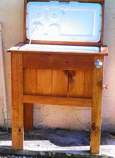 Custom wood cooler
