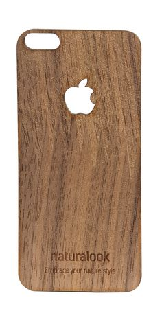 Walnut Skin for iPhone 5/6 Película em Nogueira para iPhone 5/6