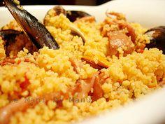 Couscous di pesce, Ricetta di mare