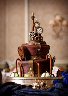 Steampunk Cakes Are Dapper, Classy