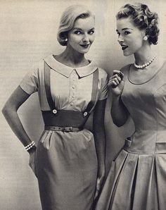 Glamour Girls. <3 1950's  I had the outfit on the left & loved it !