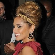 Cheryl Cole hair - Updo