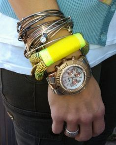 Layer The Ropes with other arm candy!