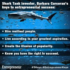 Barbara Corcoran's Keys to Entrepreneurial Success Business Quotes, Business Tips, Business Women, Starting A Business, Growing Your Business, Kevin O'leary, Barbara Corcoran, Entrepreneur Inspiration, Business Inspiration