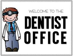 Dentist office dramatic play | Dramatic play preschool ... |Preschool Dramatic Play Dentist